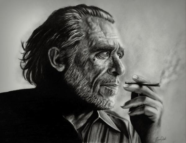 Charles Bukowski by ercansebat